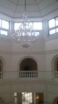 Balcony over lobby