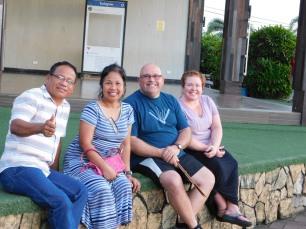 Pastor Avel, Melody, Sean, and Jenny