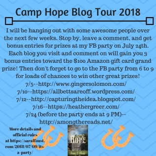 Camp Hope Blog Tour 2018 (1)